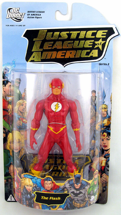DC Direct Justice League of America Series 3 The Flash Action Figure