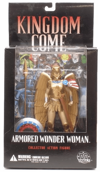 DC Direct Kingdom Come Armored Wonder Woman Action Figure