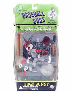 DC Direct Looney Tunes Baseball Bugs Bugs Bunny Figure