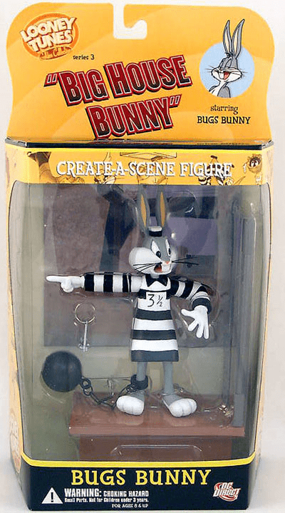DC Direct Looney Tunes Big House Bunny Bugs Bunny Figure