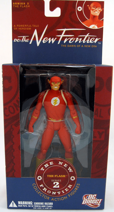 DC Direct New Frontier Series 2 The Flash Action Figure