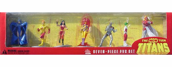 DC Direct New Teen Titans PVC Figure Set