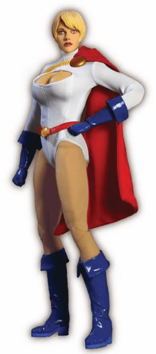 "DC Direct Power Girl 1:6 Scale 13"" Deluxe Collector Figure"
