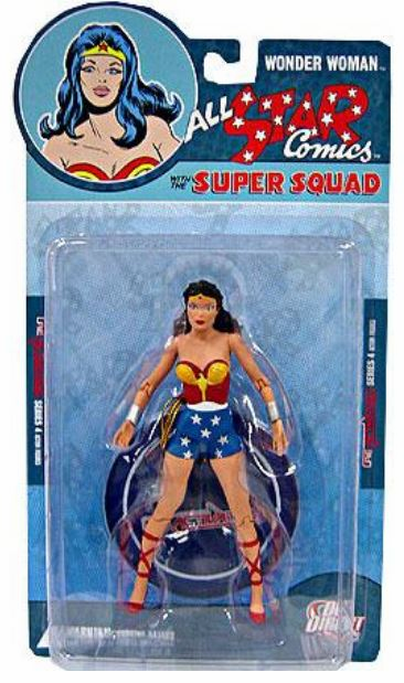 DC Direct Reactivated All Star Comics Wonder Woman Figure