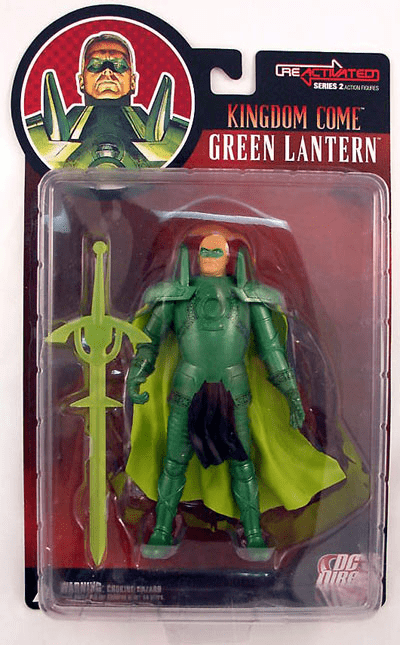 DC Direct Reactivated Series 2 Kingdom Come Green Lantern Figure
