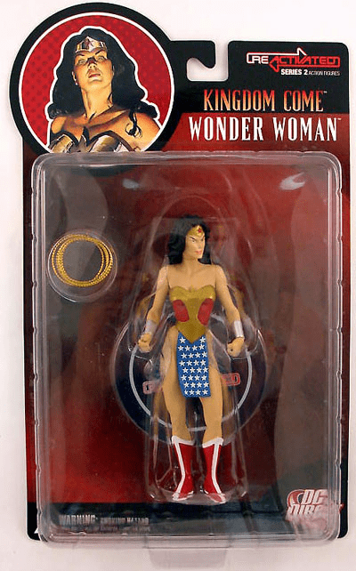 DC Direct Reactivated Series 2 Kingdom Come Wonder Woman Figure