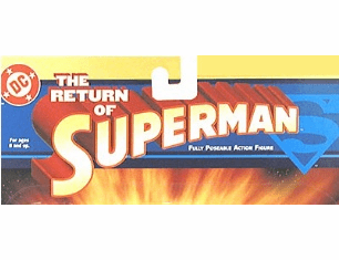 DC Direct Return of Superman Action Figures