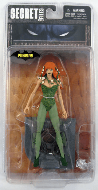DC Direct Secret Files Batman Rogues Gallery Poison Ivy Figure