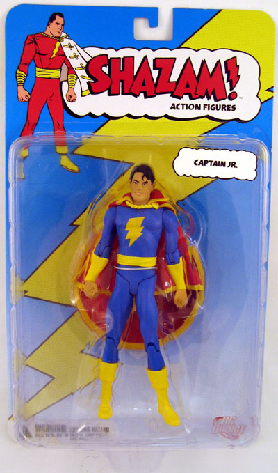 DC Direct Shazam! Captain Jr. Action Figure