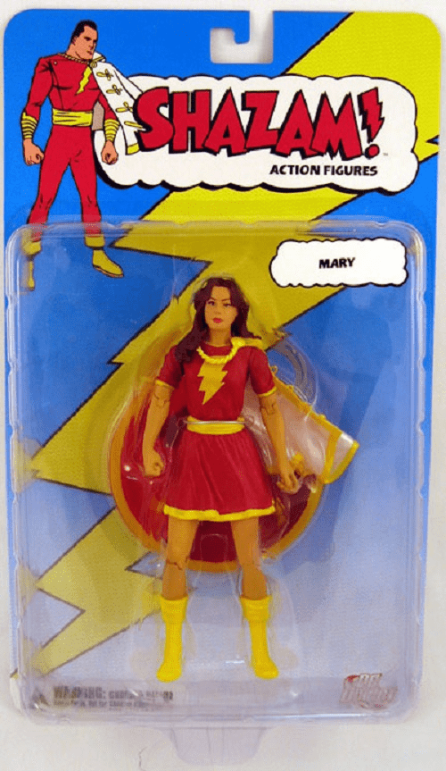 DC Direct Shazam! Mary Red Costume Action Figure