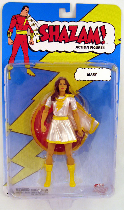 DC Direct Shazam! Mary White Costume Action Figure