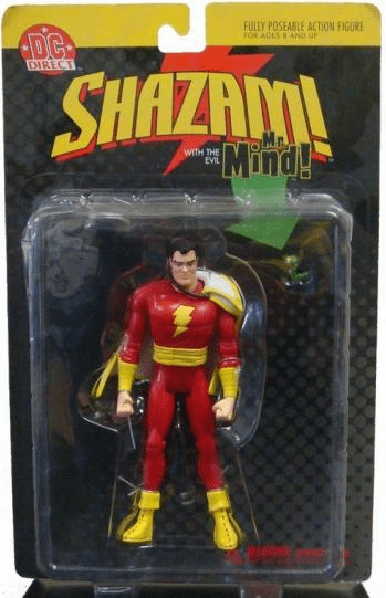 DC Direct Shazam with the Evil Mr. Mind Action Figure