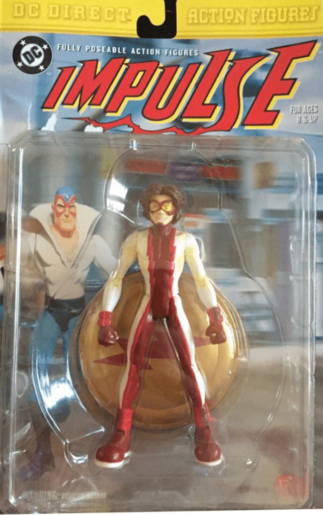 DC Direct Speedsters Young Justice Impulse Figure