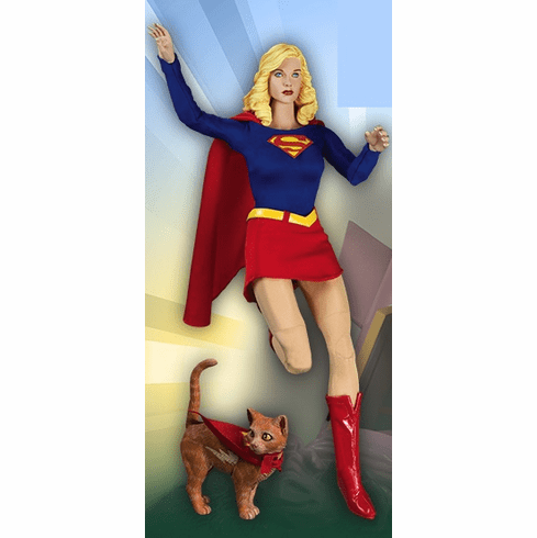 """DC Direct Supergirl 1:6 Scale 13"""" Deluxe Collector Figure"""