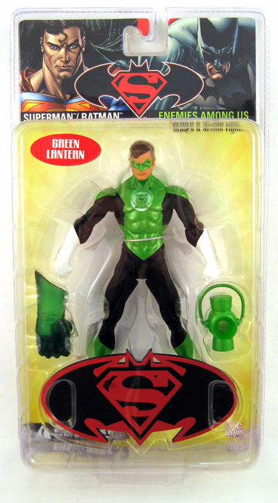 DC Direct Superman / Batman Series 6 Green Lantern Action Figure