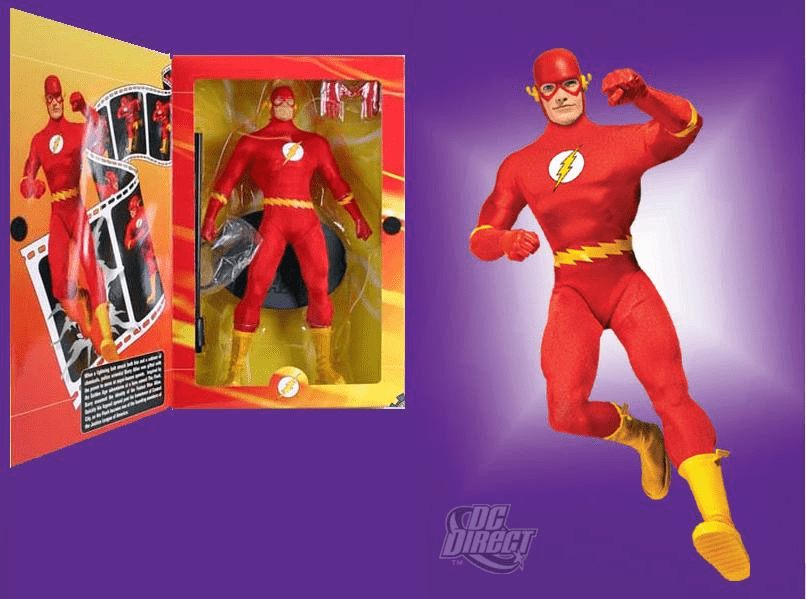 "DC Direct The Flash 1:6 Scale 13"" Deluxe Collector Figure"