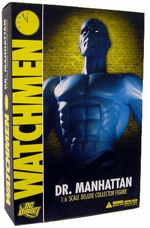 """DC Direct Watchmen Dr. Manhattan 1:6 Scale 13"""" Deluxe Collector Figure"""
