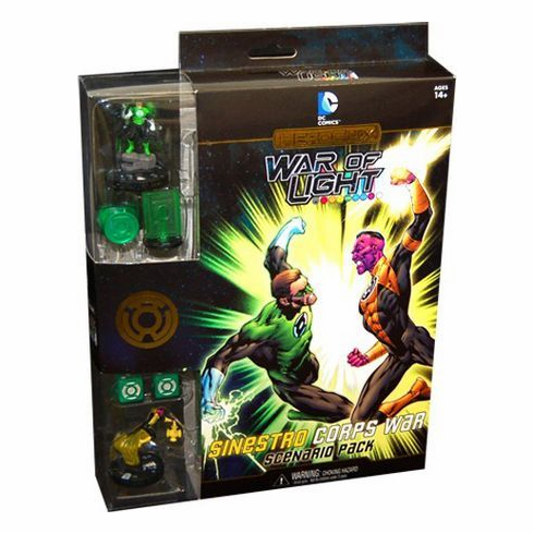 DC Heroclix War of Light Sinestro Corps Scenario Pack