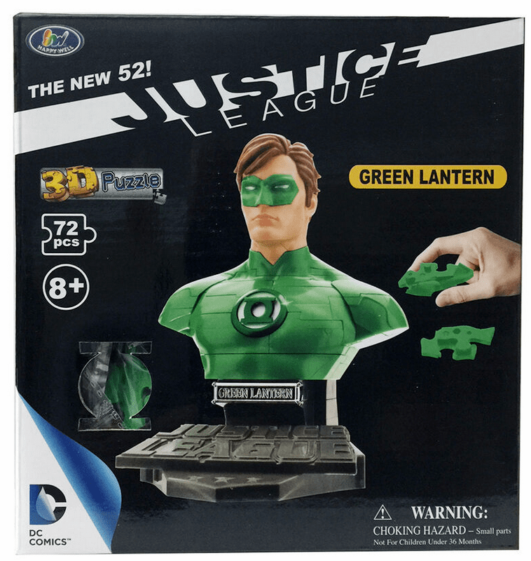 DC Heroes Green Lantern Bust 3D Puzzle