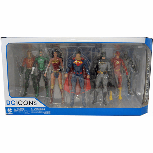 DC Icons Justice League Rebirth Figure Set