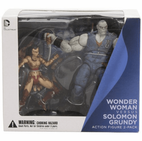 DC Injustice Gods Among Us Wonder Woman vs Solomon Grundy Figure Set