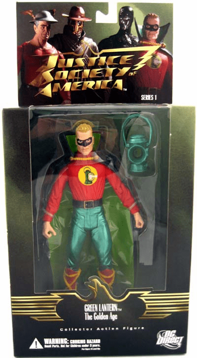 DC Justice Society of America Golden Age Green Lantern Alan Scott