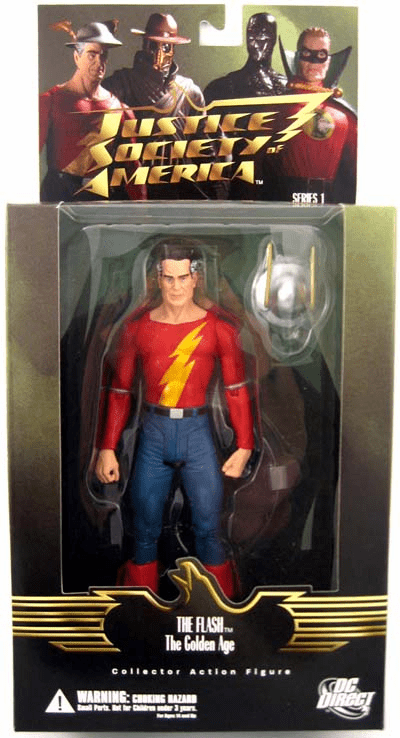 DC Justice Society of America Golden Age The Flash Jay Garrick