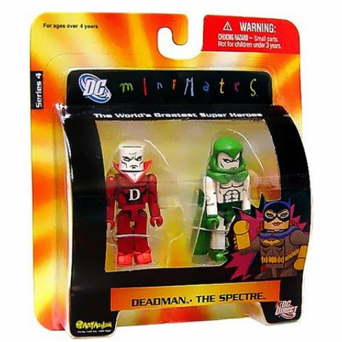 DC Minimates Deadman & The Spectre Figure Set