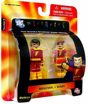 DC Minimates Shazam & Mary Figure Set