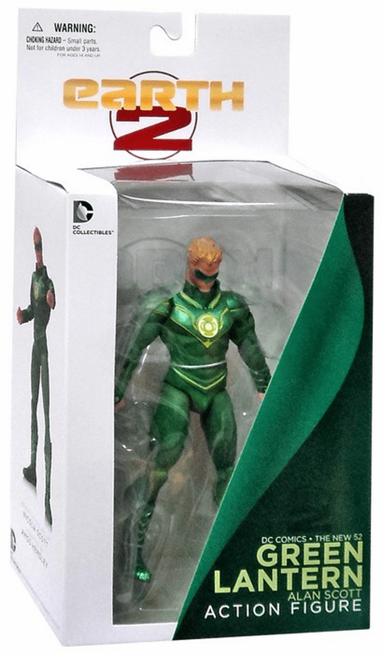 DC New 52 Earth 2 Green Lantern Alan Scott Figure