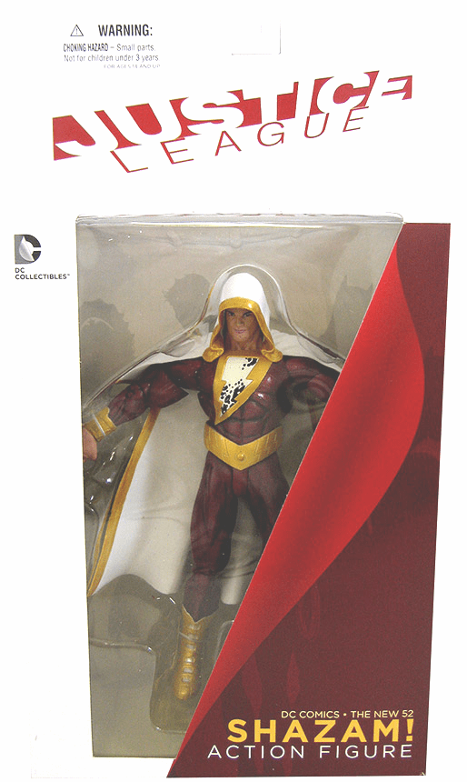 DC New 52 Justice League Shazam Figure