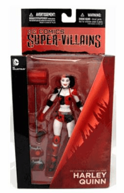 DC New 52 Super Villains Harley Quinn Figure