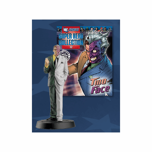 DC Super Hero Collection Magazine #12 Two-Face Figurine
