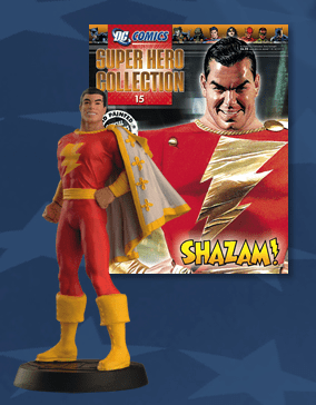 DC Super Hero Collection Magazine #15 Shazam Figurine