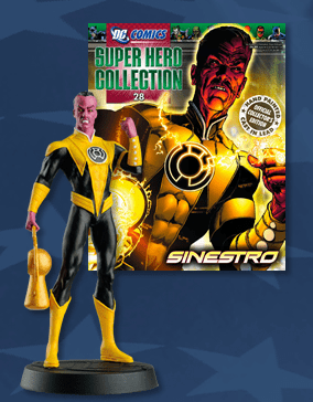 DC Super Hero Collection Magazine #28 Sinestro Figurine