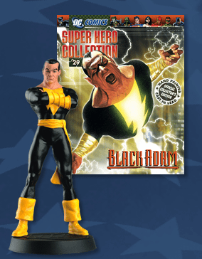 DC Super Hero Collection Magazine #29 Black Adam Figurine