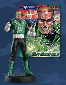 DC Super Hero Collection Magazine #38 Guy Gardner Figurine