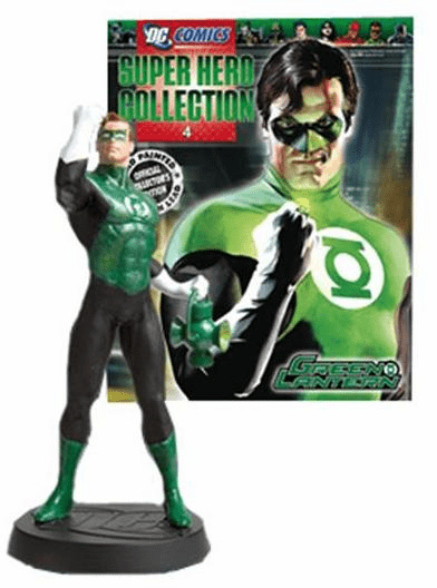 DC Super Hero Collection Magazine #4 Green Lantern figurine