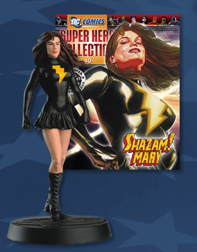 DC Super Hero Collection Magazine #40 Shazam! Mary Figurine