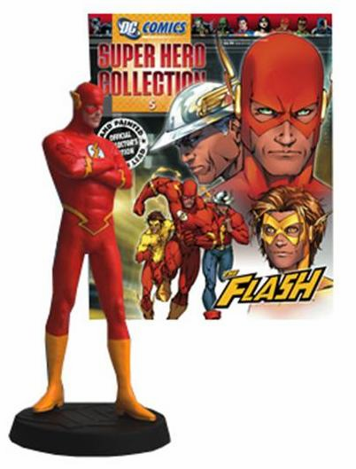 DC Super Hero Collection Magazine #5 Flash Figurine