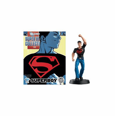 DC Super Hero Collection Magazine #99 Superboy Figurine