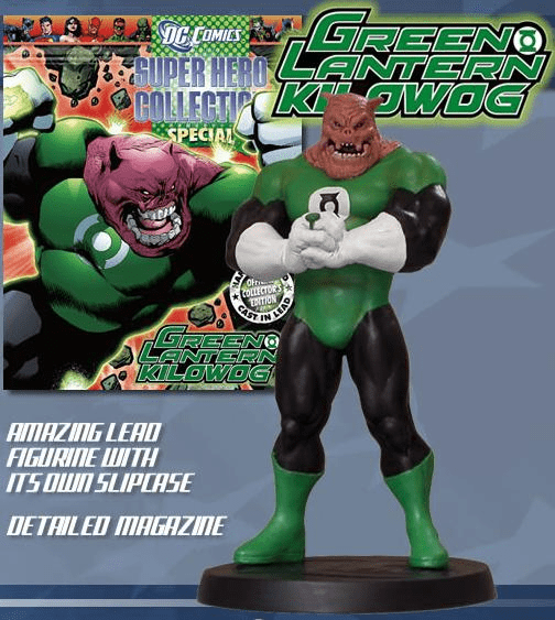 DC Super Hero Collection Magazine Green Lantern Kilowog Figurine