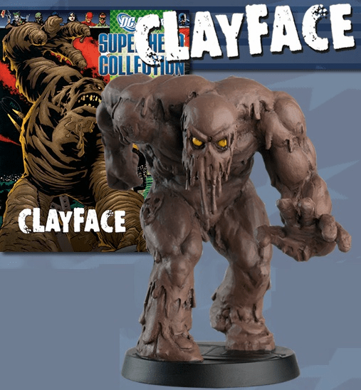 DC Super Hero Collection Magazine Special Clayface Figurine