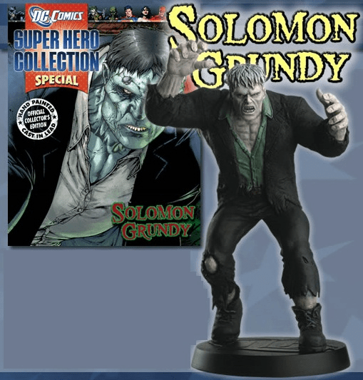 DC Super Hero Collection Magazine Special Solomon Grundy Figurine