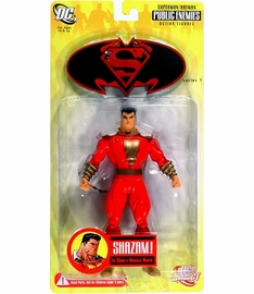 DC Superman / Batman Public Enemies Shazam Figure