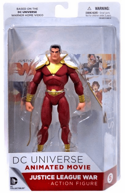 DC Universe Animated Movie Justice League War Shazam Figure