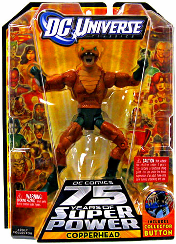 DC Universe Classics 12 Darkseid Copperhead Action Figure