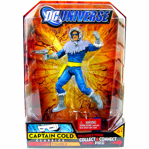 DC Universe Classics Atom Smasher Captain Cold Action Figure
