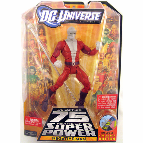 DC Universe Classics Series 13 Negative Man Action Figure