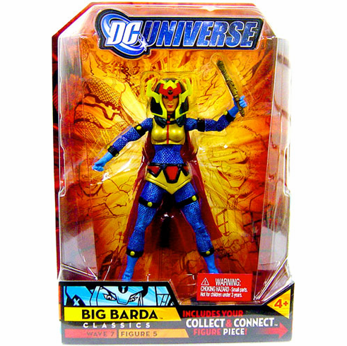 "6/""  DC UNIVERSE CLASSICS WAVE 7 ACTION FIGURE BIG BARDA"